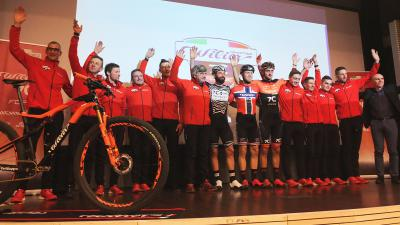 PRESENTAZIONE TEAM WILIER 7C FORCE 2019